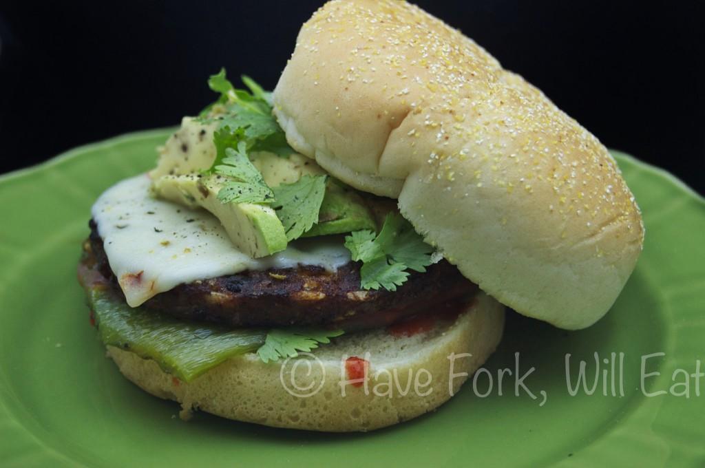 Enchilada Poblano Burger
